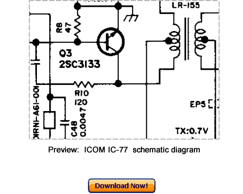 Pay for Download ICOM IC-77 Service Repair Manual