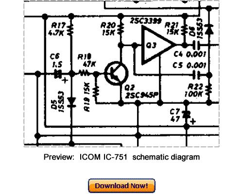 Pay for Download ICOM IC-751 Service Repair Manual