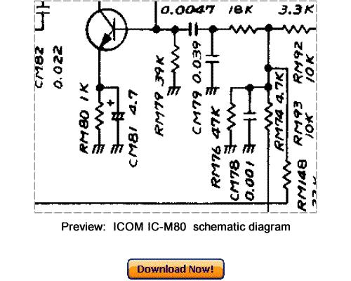 download icom ic-m80 service repair manual