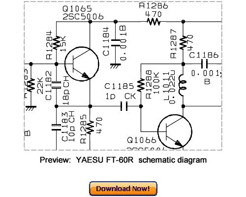 Pay for Download VERTEX YAESU FT-60R Service Repair Manual