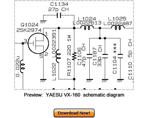 Pay for Download VERTEX YAESU VX-160 Service Repair Manual