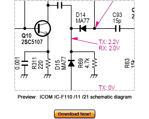 VHF TRANSCEIVER ICOM Inc. IC F