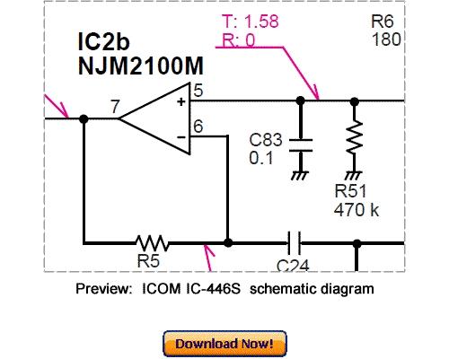 Free Download ICOM IC-446S Service Repair Manual Download thumbnail