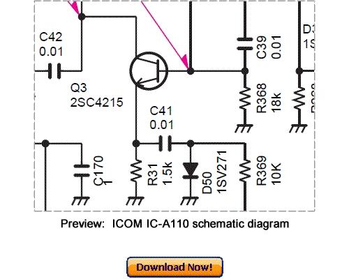 download icom ic-a110 service repair manual
