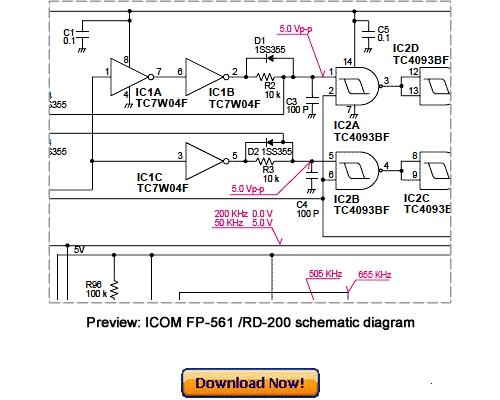 Free Download ICOM FP-561 RD-200 Service Repair Manual Download thumbnail