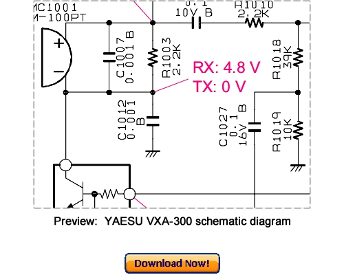 Pay for VERTEX YAESU VXA-300 Service Repair Manual Download