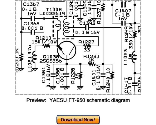 Pay for VERTEX YAESU FT-950 Service Repair Manual Download