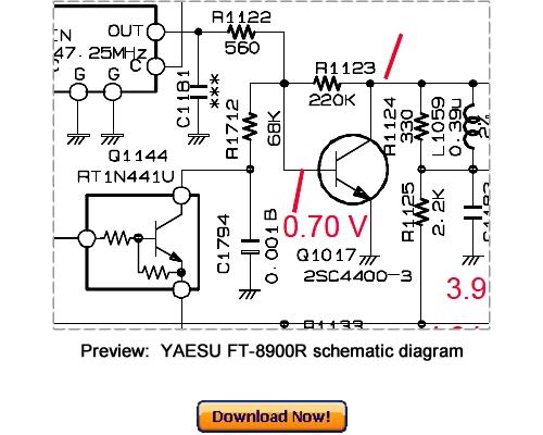 Pay for Download VERTEX YAESU FT-8900R Service Repair Manual
