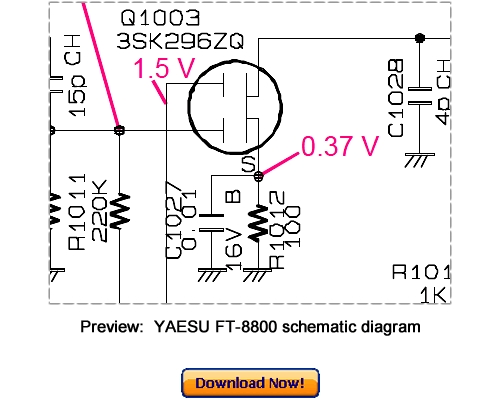 Pay for Download VERTEX YAESU FT-8800 Service Repair Manual