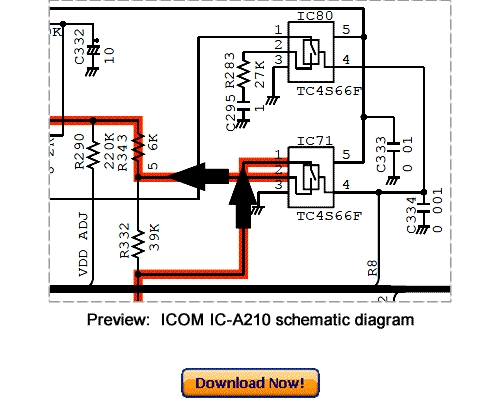 Download Icom Ic-a210 Service Repair Manual With Addendum