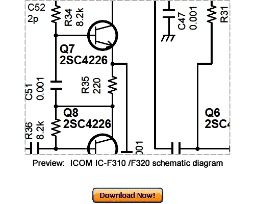 Pay for Download ICOM IC-F310 IC-F320 Service Repair Manual