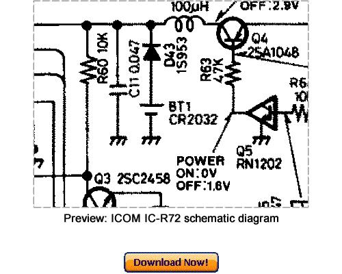 download icom ic-r72 service repair manual