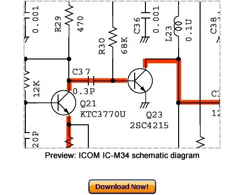 download icom ic m34 service repair manual download manuals rh tradebit com icom ic-m34 user manual Icom Ic -7300 Service Manual