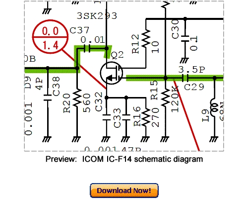 Download Icom Ic-f14 Service Repair Manual