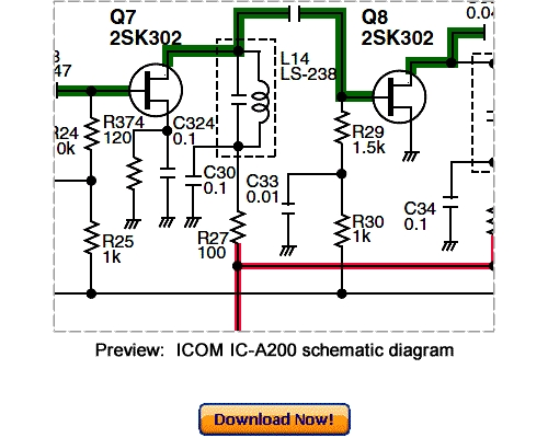 Pay for Download ICOM IC-A200 Service Repair Manual