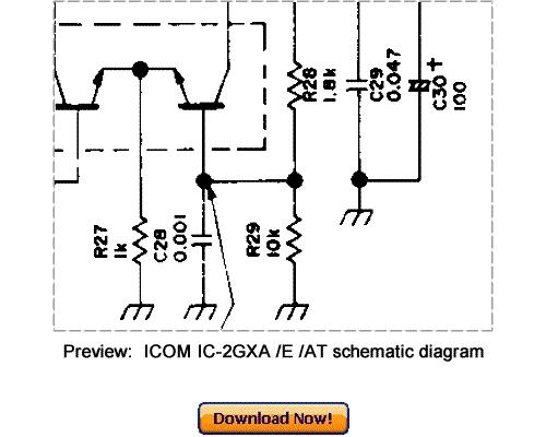 Free Download ICOM IC-2GXA 2GXE 2GXAT Service Repair Manual Download thumbnail