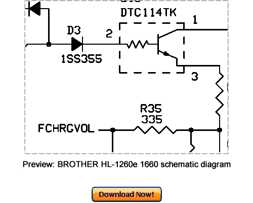 Pay for Download BROTHER HL-1260e HL-1660 Service Repair Manual