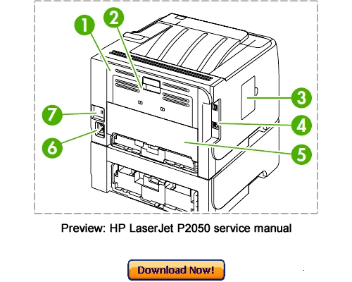 Hp Laserjet P2055 P2035 Service Repair Manual Download