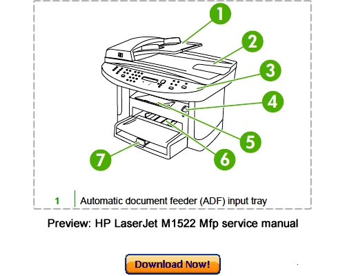 hp laserjet p1606dn service manual