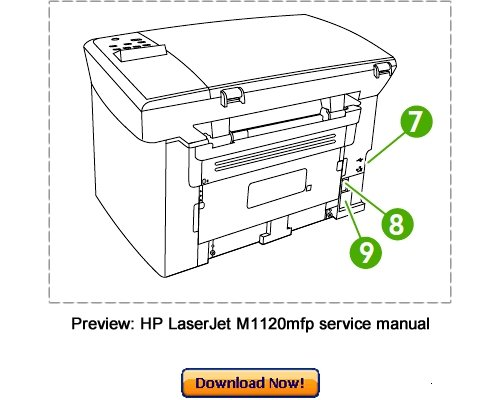 Hp Laserjet M1120mfp Service Repair Manual Download