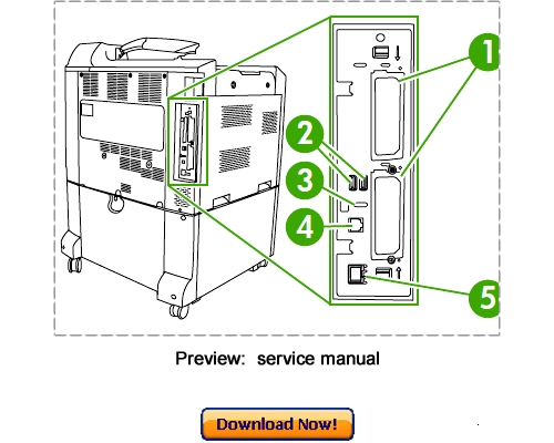 Pay for HP Color LaserJet CP6015 Series Service Repair Manual Download