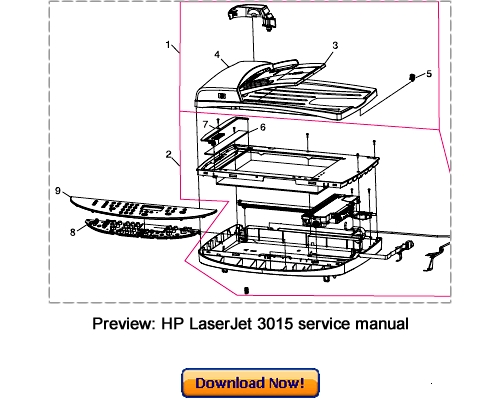 hp laserjet 3015 3020 3030 service repair manual download downloa rh tradebit com laserjet p3015 service manual pdf laserjet p3015 repair manual