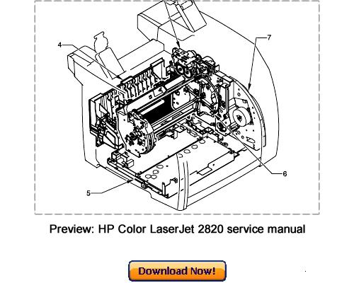 hp color laserjet 2820 2830 2840 service repair manual download d rh tradebit com hp 2840 parts manual hp color laserjet 2840 repair manual