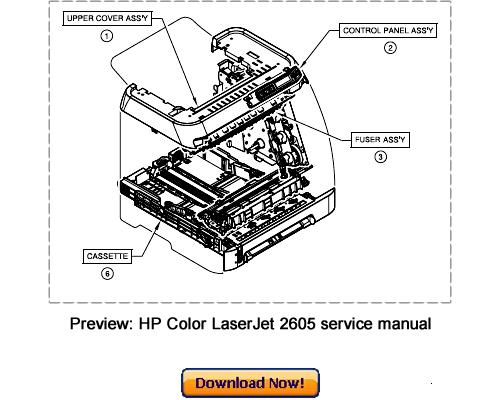 Инструкция Hp Color Laserjet 2605