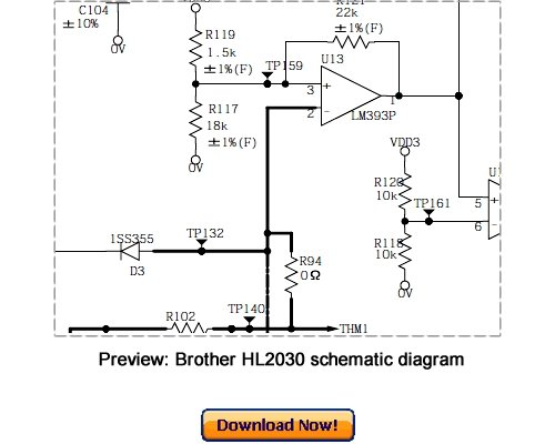 Brother-hl-2030 printer service repair manual | copiers technology.