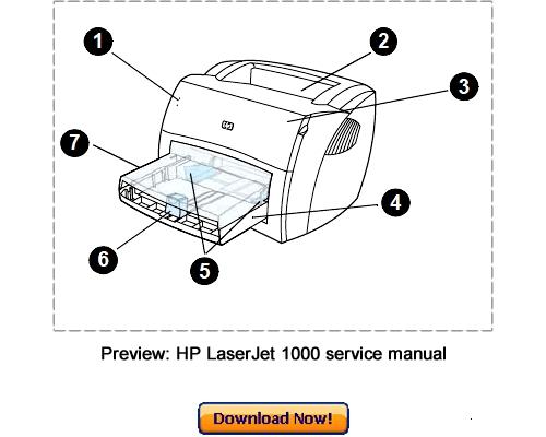 hp laserjet 1000 инструкция