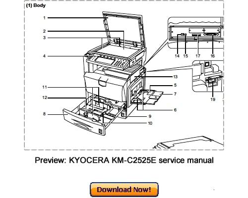 Free Kyocera Km1525 1530 2030 Full Service Manual Download  U2013 Best Repair Manual Download