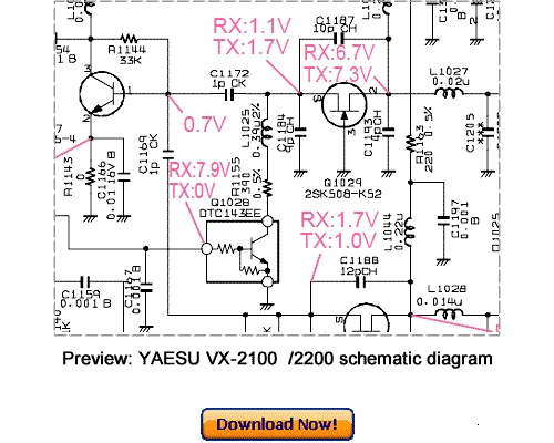 Pay for Download VERTEX YAESU VX-2100 VX-2200 Service Repair Manual