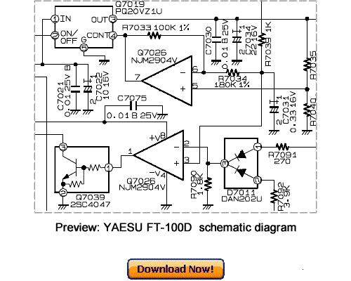 Pay for VERTEX YAESU FT-100D Service Repair Manual Download