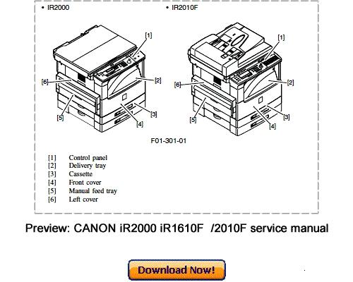 Canon ir 1600 инструкция