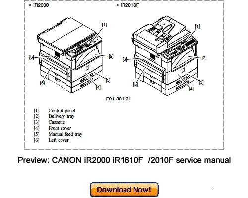 Canon Ir 1600 Инструкция img-1