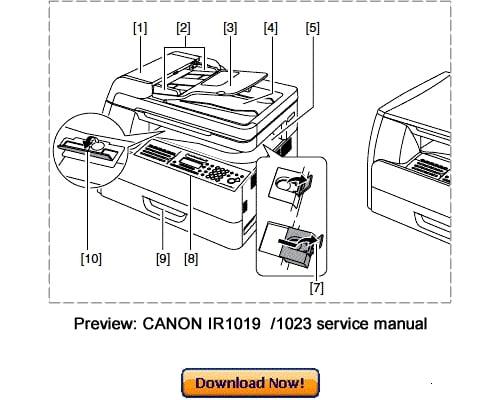 canon ir1019j ir1023 ir1023n ir1023if service repair manual down rh tradebit com canon imagerunner 1023 manual canon ir 1023 manual pdf