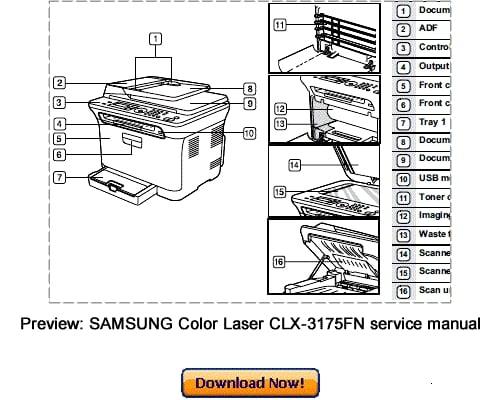 samsung clx-3175 driver mac download