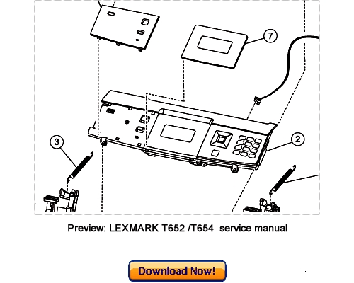 Pay for LEXMARK T650n T652n T654n T654dn Service Repair Manual Download
