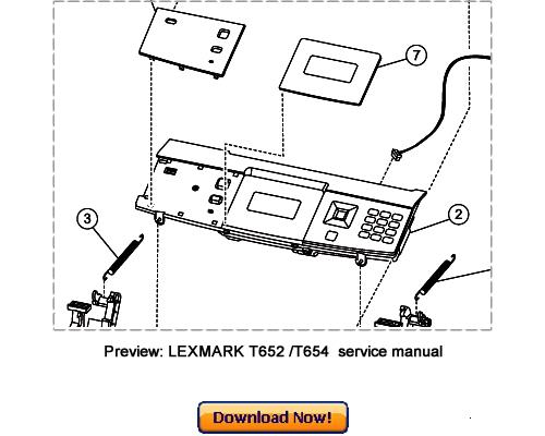 Pay for LEXMARK T650n T652n T654n T654dn Service Repair Manual Download