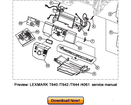 lexmark t640 t642 t644 service repair manual download lexmark t640 parts catalog lexmark t650 parts manual