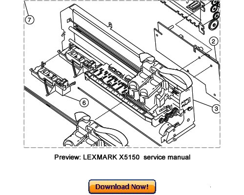 Free LEXMARK X5150 All-In-One Service Repair Manual Download Download thumbnail