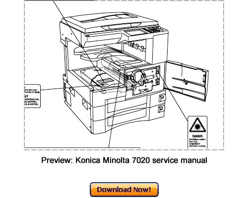 konica minolta 7020 7022 7025 7030 7035 7130 7135 service repair ma rh tradebit com konica 7022 service manual free Coby 7022