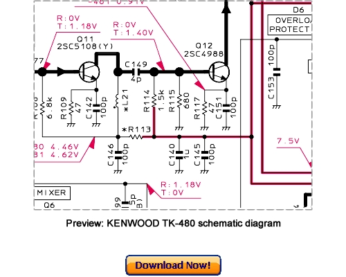 Kenwoodtk Servman on Kenwood Programming Cable Schematic