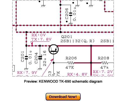 Kenwood Tk-690h B  Service Repair Manual Download