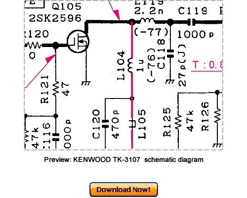 Pay for KENWOOD TK-3107 M2 Version Service Repair Manual Download