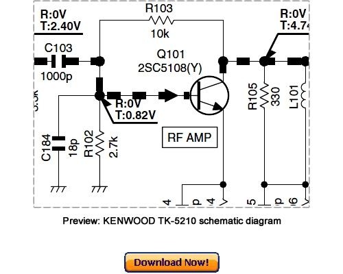 kenwood tk-5210 service repair manual download
