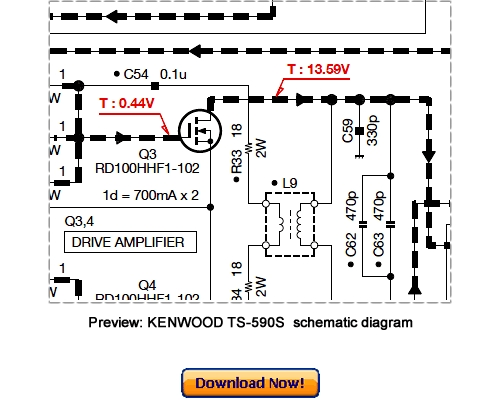 kenwood ts-590s service repair manual download