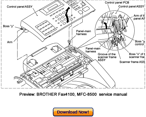 brother mfc 8460n service manual download