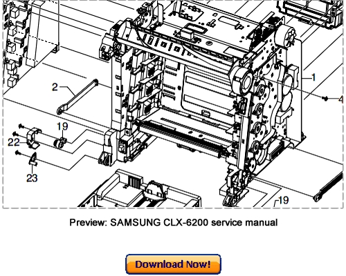 samsung clx 3160fn service manual