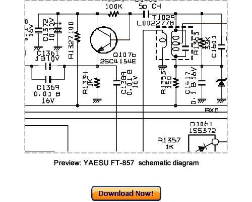 Pay for VERTEX YAESU FT-857, FT-857D (2005) Service Repair Manual Download